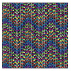Decorative Ornamental Abstract Large Satin Scarf (square)
