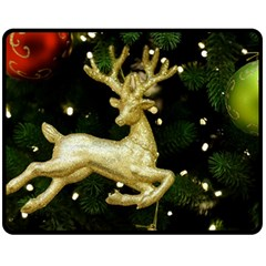 December Christmas Cologne Double Sided Fleece Blanket (medium)  by Nexatart
