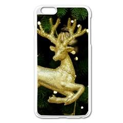 December Christmas Cologne Apple Iphone 6 Plus/6s Plus Enamel White Case