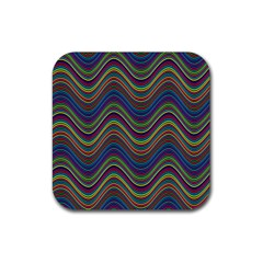 Decorative Ornamental Abstract Rubber Coaster (square)
