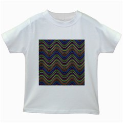 Decorative Ornamental Abstract Kids White T Shirts
