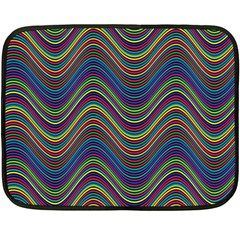 Decorative Ornamental Abstract Fleece Blanket (mini)