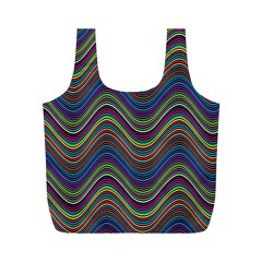 Decorative Ornamental Abstract Full Print Recycle Bags (m)  by Nexatart