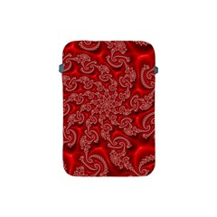 Fractal Art Elegant Red Apple Ipad Mini Protective Soft Cases by Nexatart