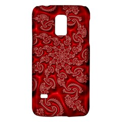 Fractal Art Elegant Red Galaxy S5 Mini