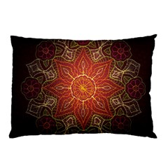 Floral Kaleidoscope Pillow Case (two Sides)