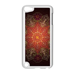 Floral Kaleidoscope Apple iPod Touch 5 Case (White)