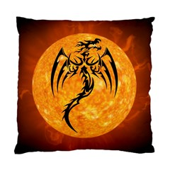 Dragon Fire Monster Creature Standard Cushion Case (two Sides) by Nexatart
