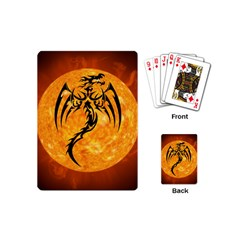 Dragon Fire Monster Creature Playing Cards (mini)  by Nexatart