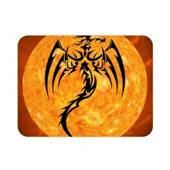 Dragon Fire Monster Creature Double Sided Flano Blanket (mini)  by Nexatart