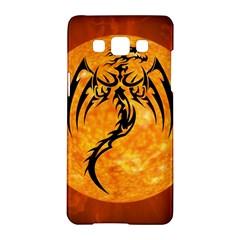 Dragon Fire Monster Creature Samsung Galaxy A5 Hardshell Case