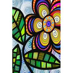 Folk Art Flower 5 5  X 8 5  Notebooks