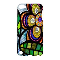 Folk Art Flower Apple iPod Touch 5 Hardshell Case by Nexatart