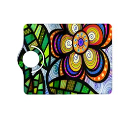 Folk Art Flower Kindle Fire Hd (2013) Flip 360 Case by Nexatart