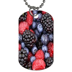 Forest Fruit Dog Tag (one Side)