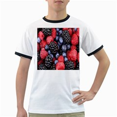 Forest Fruit Ringer T Shirts