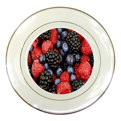 Forest Fruit Porcelain Plates by Nexatart