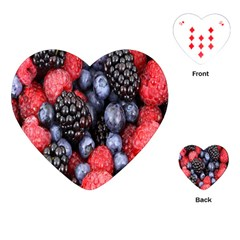 Forest Fruit Playing Cards (heart)  by Nexatart