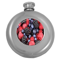 Forest Fruit Round Hip Flask (5 Oz)