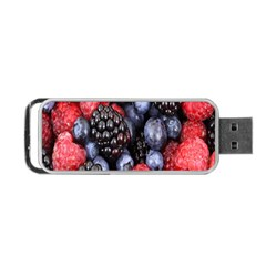 Forest Fruit Portable Usb Flash (one Side) by Nexatart