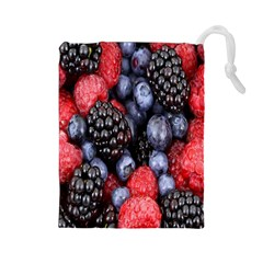 Forest Fruit Drawstring Pouches (large)  by Nexatart