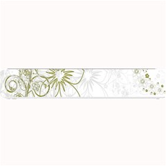 Flowers Background Leaf Leaves Small Bar Mats by Nexatart