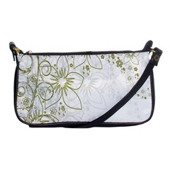 Flowers Background Leaf Leaves Shoulder Clutch Bags by Nexatart