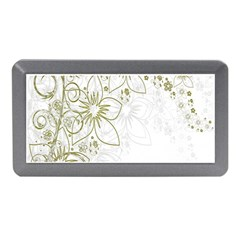 Flowers Background Leaf Leaves Memory Card Reader (mini)