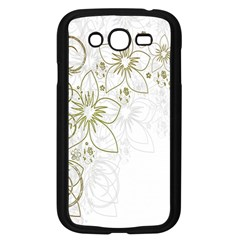 Flowers Background Leaf Leaves Samsung Galaxy Grand Duos I9082 Case (black) by Nexatart