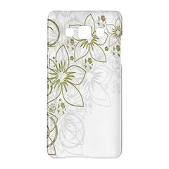Flowers Background Leaf Leaves Samsung Galaxy A5 Hardshell Case