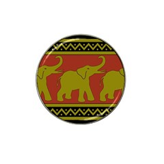 Elephant Pattern Hat Clip Ball Marker