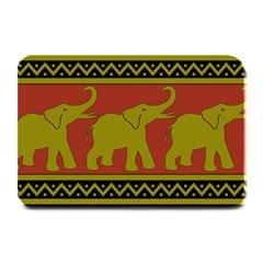 Elephant Pattern Plate Mats