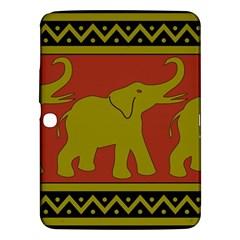 Elephant Pattern Samsung Galaxy Tab 3 (10 1 ) P5200 Hardshell Case  by Nexatart