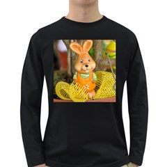 Easter Hare Easter Bunny Long Sleeve Dark T Shirts