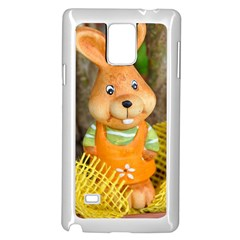 Easter Hare Easter Bunny Samsung Galaxy Note 4 Case (White)