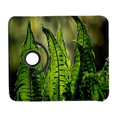 Fern Ferns Green Nature Foliage Galaxy S3 (flip/folio) by Nexatart