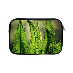 Fern Ferns Green Nature Foliage Apple Ipad Mini Zipper Cases by Nexatart