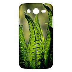 Fern Ferns Green Nature Foliage Samsung Galaxy Mega 5 8 I9152 Hardshell Case  by Nexatart