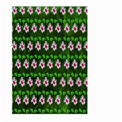 Floral Pattern Large Garden Flag (two Sides) by Nexatart