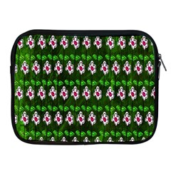 Floral Pattern Apple Ipad 2/3/4 Zipper Cases by Nexatart