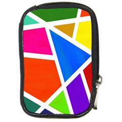 Geometric Blocks Compact Camera Cases by Nexatart