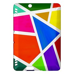 Geometric Blocks Kindle Fire Hdx Hardshell Case