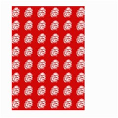 Happy Chinese New Year Pattern Large Garden Flag (two Sides) by dflcprints