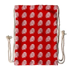 Happy Chinese New Year Pattern Drawstring Bag (large) by dflcprints