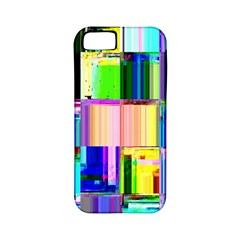 Glitch Art Abstract Apple Iphone 5 Classic Hardshell Case (pc+silicone)
