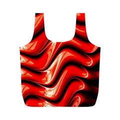 Fractal Mathematics Abstract Full Print Recycle Bags (m)