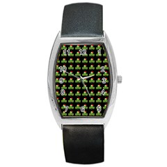 Irish Christmas Xmas Barrel Style Metal Watch by Nexatart
