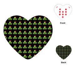 Irish Christmas Xmas Playing Cards (heart)  by Nexatart
