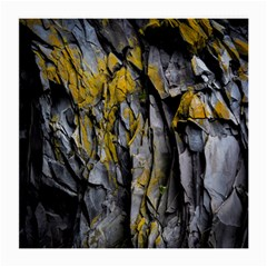 Grey Yellow Stone Medium Glasses Cloth