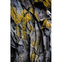 Grey Yellow Stone 5 5  X 8 5  Notebooks by Nexatart